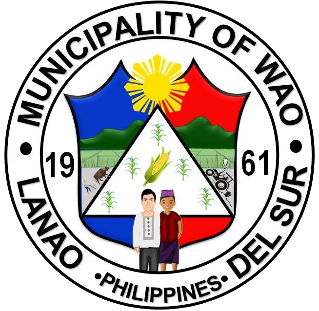 Local Government of Wao, Lanao del Sur Official Logo